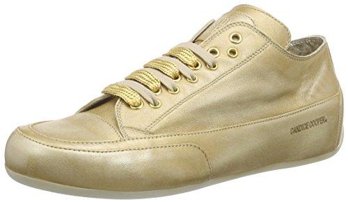 Candice Cooper Rock.stringhe.liquid.nappa, Baskets Basses femme Or - Gold (oro)
