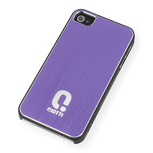 QIOTTI QX-C-0920-64-IP4 Q.Snap Shell Alu für Apple iPhone 4/4S lila Apple Iphone Snap Lila