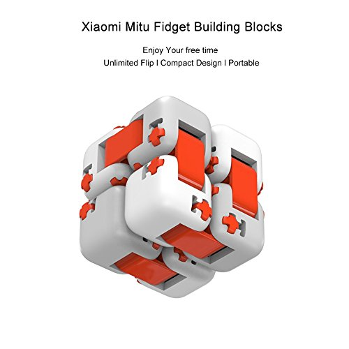 Zantec Regalo di Compleanno Original Xiaomi MITU Cubes Spinner Finger Bricks Giocattoli Intelligenti Intelligenza Fidget Magic Cubes Infinity Toys Ansia da Stress - 3