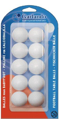 Garlando Standard Ball für Fußballtisch weiß