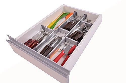Verstellbarer Schubladen Organizer Kuche Eleganter Modularer