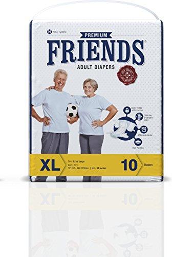 Friends Adult Diaper (10 Count)