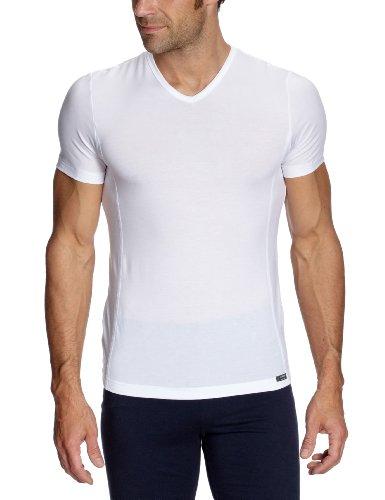 HUBER Herren Unterhemd Tyson V-Shirt Kurzarm, Gr. 54 (XXL/07), Weiß (weiss 0500, midnight  Preisvergleich