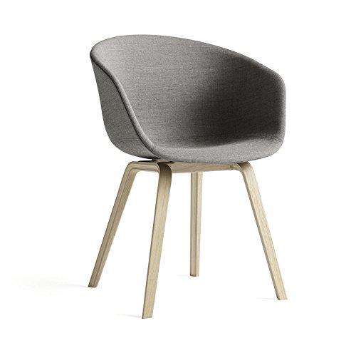 HAY - About a Chair AAC 23 - Eiche geseift - Remix 133 - grau - Hee Welling - Design - Esszimmerstuhl - Speisezimmerstuhl
