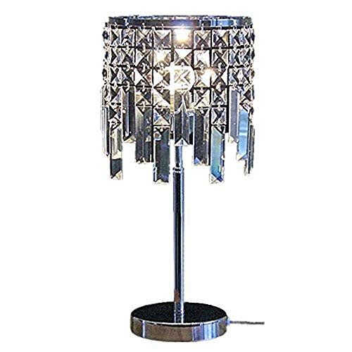 Mode Europäische Moderne Mode einfache kreative romantische K9 kristall dimmen LED Schlafzimmer nachttischlampe 20 * 45 cm Originalität Standard Desk Phone