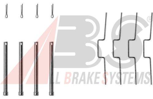 ABS 1176Q Kit di Pastiglie per freno a disco