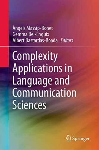 "Resultat d'imatges per a ""complexity applications in language and communication sciences"""