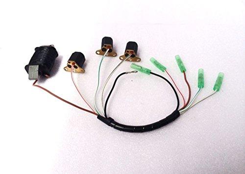 yamasco 6H2–85520–106H2–85580Laden Coil Set für Yamaha Außenborder C P 60PS 70PS 2T Boot
