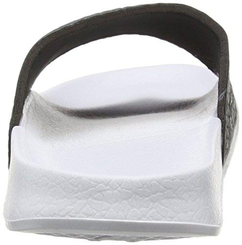 Slydes Eyes M, Chaussures de Plage et Piscine Homme Blanc - Blanc