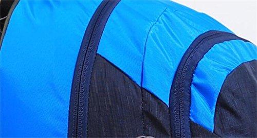 arrampicata all'aperto uomini e donne borsa tracolla ultraleggero escursioni Borsa 40L ( Colore : Rosso , dimensioni : 40L ) Nero