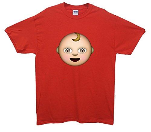 Baby Emoji T-Shirt Rot