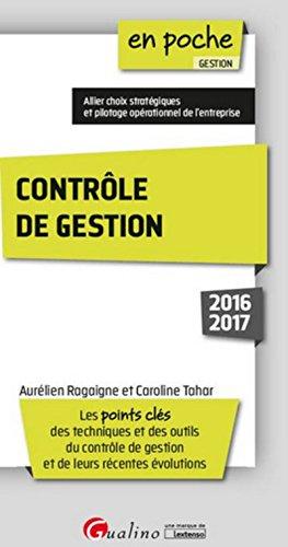 Contrôle de gestion 2016-2017, 2ème Ed.