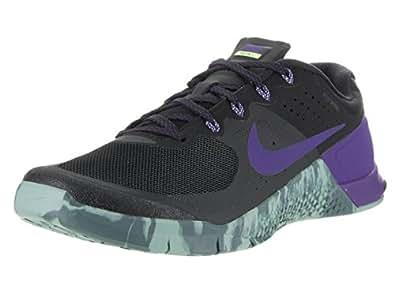 Nike Men's Metcon 2 Black/Fierce Purple Hasta Training Shoe 8. 5 Men US