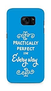AMEZ practically perfect in every way Back Cover For Samsung Galaxy S7