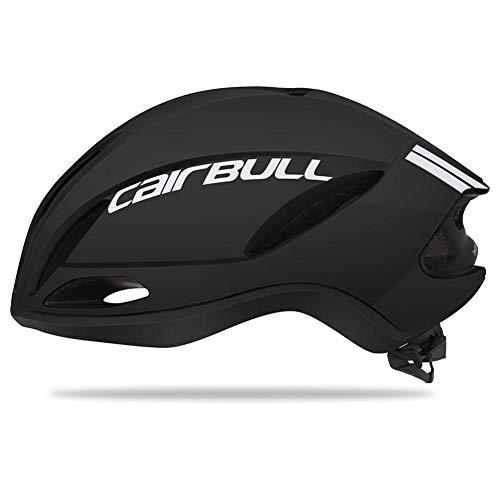 QueenHome Kopfschutz, Fahrradhelm, Ultraleicht, Winddicht, für Fahrrad, Erwachsene schwarz/weiß