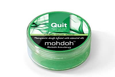 Mohdoh Quit Stop Smoking Tobacco Cigarette Nicotine Withdrawal Anxiety Dough - pack of 2 by Mohdoh