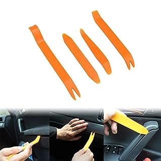 GOFORJUMP 4 stücke Auto Auto Radio Tür Clip Panel Trim Dash Audio Entfernung Installer Pry Tool Auto Werkzeuge Für Auto Repair Trim Removal Tool