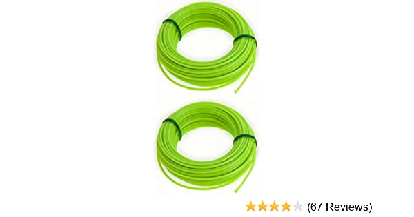 2MM×15M STRONG STRIMMER LINE 2MM ELECTRIC CORD WIRE GARDEN GRASS TRIMMER CUT NEW