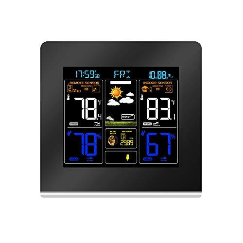 LDJC Estación meteorológica inalámbrica Termómetro