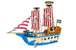 """Small Foot Design 10469""""jack"""" barco pirata juguete"""