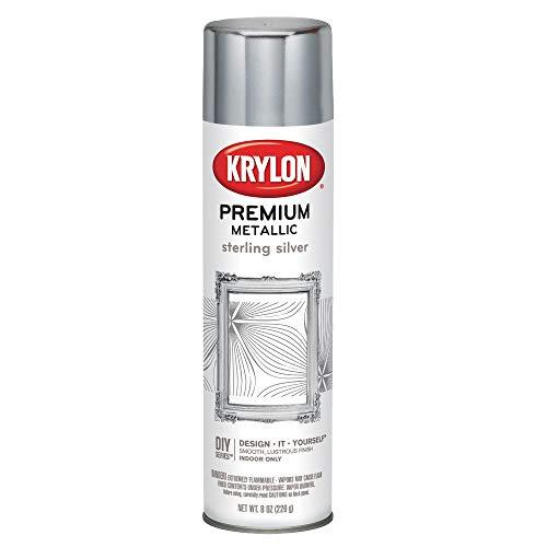 Krylon K01000A07 - Pintura en espray metalizada de calidad