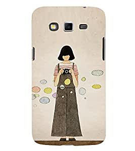 Girl with Camera 3D Hard Polycarbonate Designer Back Case Cover for Samsung Galaxy Grand I9082 :: Samsung Galaxy Grand Z I9082Z