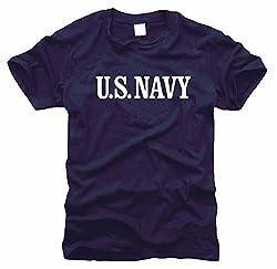 FOTL / B&C / Gildan US Navy Seals Marines (navy) - T-Shirt, Gr. M