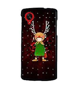 PrintDhaba Cartoon D-3090 Back Case Cover for LG GOOGLE NEXUS 5 (Multi-Coloured)