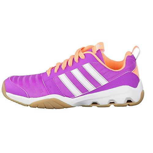adidas Kinder Schuhe Hallenschuhe Indoorschuhe Turnschuhe GymPlus 3 K pink Pink