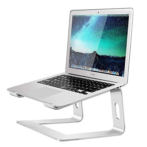 YSYDE Laptop-Ständer für den Schreibtisch, tragbar, Aluminiumlegierung, leichte Lüftungsplattform, künstlicher Komfortwinkel für hohen Bildschirm, für Ihren Laptop-Platz