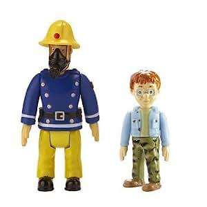 sam le pompier pack 2 figurines sam avec masque nicolas import royaume uni. Black Bedroom Furniture Sets. Home Design Ideas