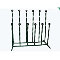Family wellington boot holder welly rack 8 pair 51 cm tall bars