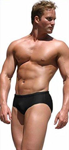 pandex Briefs Shorts (Medium, Schwarz) (Hulk Hogan Halloween Kostüme)