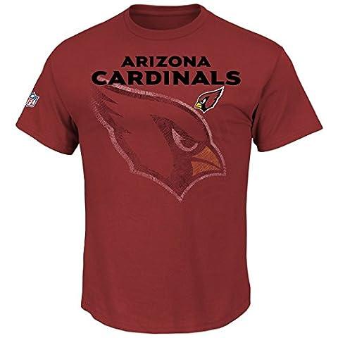 Majestic NFL RAIYNA Shirt - Arizona Cardinals rubin -