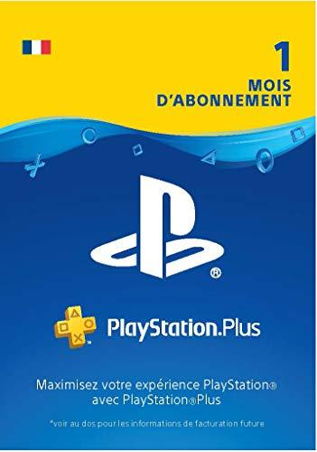 PlayStation Plus 1 Month Subscription - 1 Mois Edition | Code Jeu PS4 - Compte français