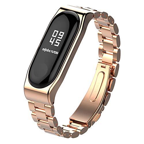 c544ac40eaca Mijobs Strap for Xiaomi Mi Band 3 Straps Bracelet