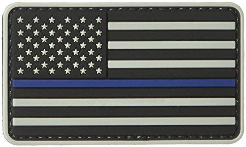 Unbekannt 5ive Star Gear US Flag Morale Patch mit blauem Streifen, Herren, grau/blau, One Size