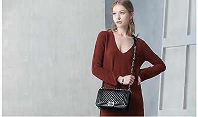 Macton femme cuir épaule sac Messenger polyvalent carrière de sac à main en peau de mouton MC-5016