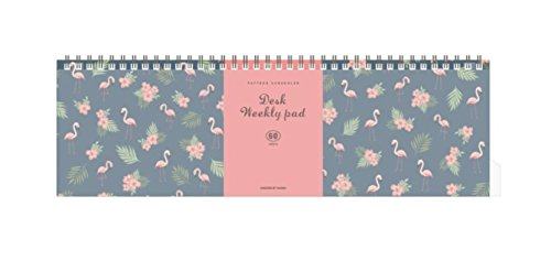 Iconic Iconic Weekly, Monthly Desk Pad Ver.2/Pattern Scheduler, Weekly)