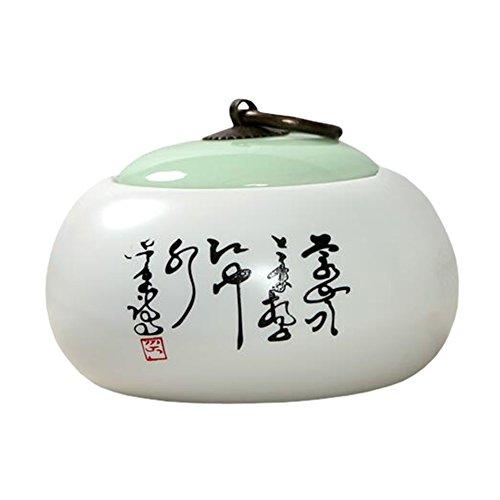 Chinesische Tee / Kaffee Container Keramik Topf S??igkeiten / Snacks / Cookies Topf Lagerung Flaschen NO.24