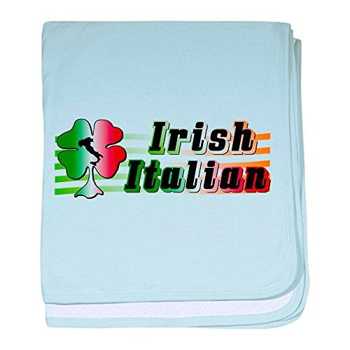 CafePress–Irische Italienisches Baby Decke–Baby Decke, Super Weich Für Neugeborene Wickeldecke, baumwolle, himmelblau, Standard