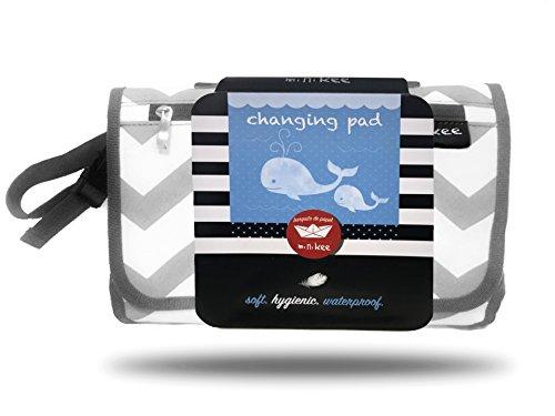 MiniKee Fasciatoio portatile da viaggio per il cambio pannolini neonato