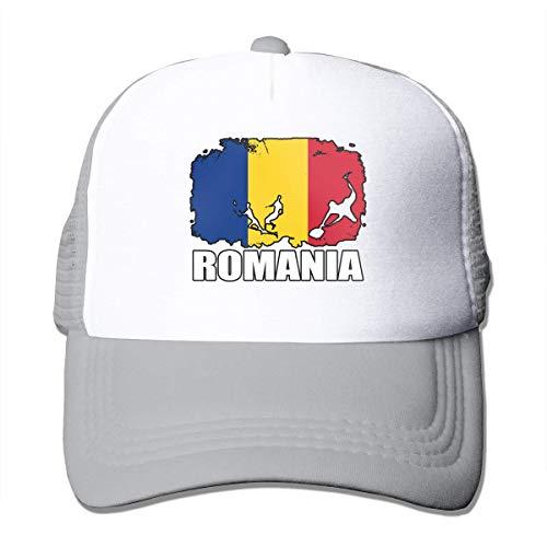 Voxpkrs Romania Flag Football Rugby Adjustable Mesh