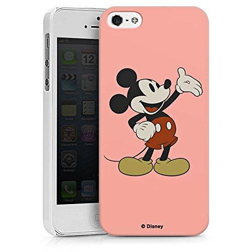 Apple iPhone X Silikon Hülle Case Schutzhülle Disney Mickey Mouse Classic Geschenke Merchandise Hard Case weiß