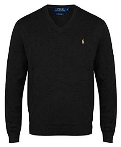 ralph-lauren-polo-mens-pima-cotton-v-neck-jumper-various-colours-large-black