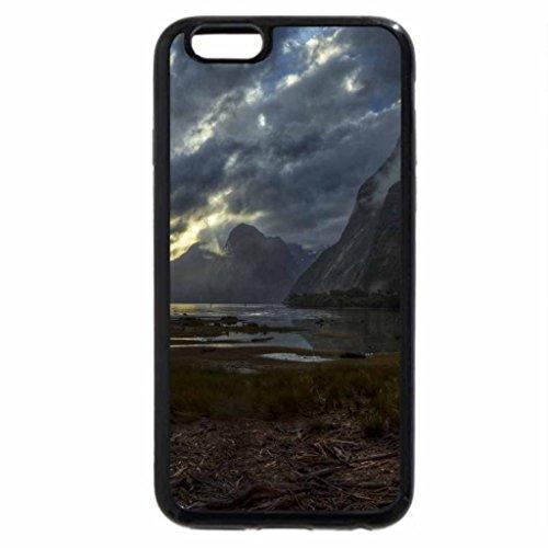 iphone-3s-iphone-6-coque-noir-fonce-sombres-nuages-drapage-montagnes