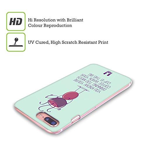 Head Case Designs Troppo Divertenti Chicchi Di Caffè Cover Retro Rigida per Apple iPhone X Troppo
