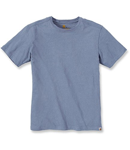 Carhartt Herren Big & Tall Maddock Nicht Pocket Short Sleeve T-Shirt Flint Stone
