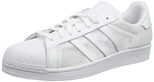 promo code e94f0 a3cb2 Adidas Originals Superstar Foundation Scarpe da Ginnastica Unisex - Adulto,  Bianco (Ftwr White Ftwr White Ftwr White), 41 1 3 EU