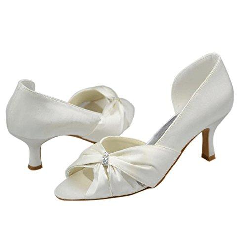 Minitoo , Escarpins pour femme Ivory-6.5cm Heel